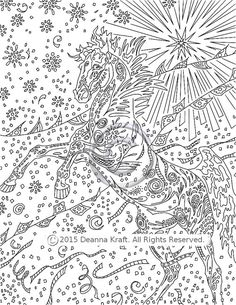 starburst horse coloring page rearing stallion coloring book downloadable