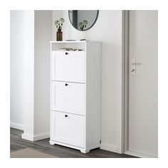 Great for entry way - tuck shoes away and good place to leave keys and whatever else you need as you run out the door