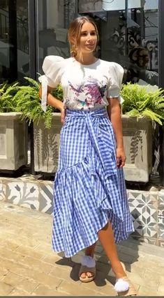 Casual Wear, Casual Outfits, Cute Outfits, Eid Dresses, Cute Dresses, Skirt Outfits, Dress Skirt, Look Fashion, Womens Fashion