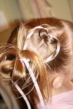 1 day Charlie will have hair and I'll do darling things like this to it.