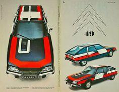 """◆ CITROEN CX 2400 """"RALLYE"""" 1977 from LDC 49-50. ◆ Le DOUBLE CHEVRON No...."""