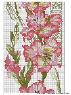 Gallery.ru / Photo # 164 - Cross Stitch (Flora) - Vladikana ~~ FLOWERS ON BLACK PG 3 OF 6