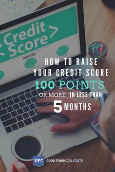 How to Raise Your Credit Score 100 Points (in Less Than 5 Months) - Credit Card Hacked - Ideas of Credit Card Hacked - How to Raise Your Credit Score 100 points Jeff Rose Good Financial Cents Raising Credit Score, What Is Credit Score, How To Fix Credit, Build Credit, Improve Your Credit Score, Credit Card Hacks, Rewards Credit Cards, Rebuilding Credit, Credit Agencies