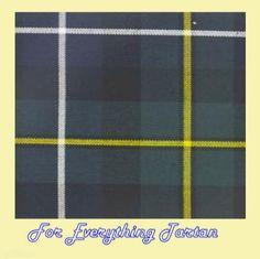 MacNeil Hunting Modern Tartan Polyviscose Plaid Fabric Swatch  by JMB7339 - $20.00