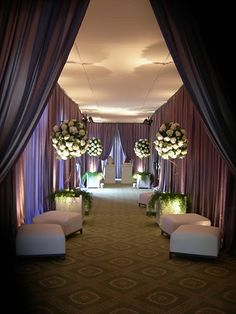 Drapes by Event Drapery