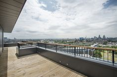 I chose this image as I like the view of the city from the decking/balcony