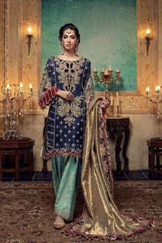 Healthy living at home devero login account access account Shadi Dresses, Pakistani Formal Dresses, Formal Dresses For Weddings, Pakistani Dress Design, Pakistani Outfits, Indian Outfits, Wedding Dresses, Blue Outfits, Wedding Themes
