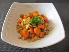 Poêlée de chou chinois aux carottes : Diet & Délices - Recettes dietétiques