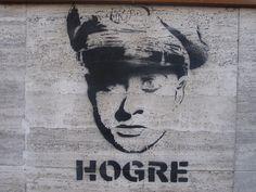 """Hogre"" - Street Art"