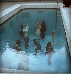 una piscina ideal para los que no saben nadar....