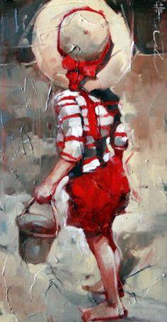 Galleries in Carmel and Palm Desert California - Jones & Terwilliger Galleries -Andre kohn Painting People, Figure Painting, Painting & Drawing, Watercolor Paintings, Art Abstrait, Beautiful Paintings, Figurative Art, Painting Inspiration, Creative Art