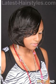 BOBBED BEAUTY blunt cut angle creating a fierce frame to show off your amazing features