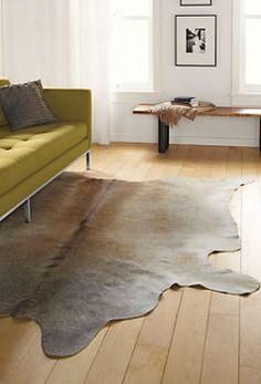 Cowhide Rugs - All Rugs - Rugs - Room & Board