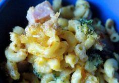 Broccoli and Ham Mac and Cheese