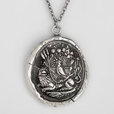 Self Assurance Talisman Necklace - Pyrrha Jewelry out of Vancouver.