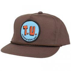 3f7193eb190 Transportation Unit Twill Snapback Hat (Brown)  23.95 Transportation Unit