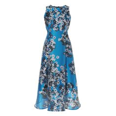 Occa 50's Style Dress Blue - Turquoise