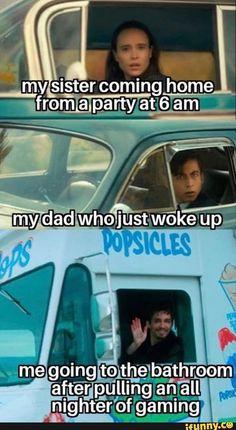 Really Funny Memes, Stupid Funny Memes, Funny Relatable Memes, Funny Posts, Haha Funny, Funny Quotes, Hilarious, Funny Stuff, Random Stuff