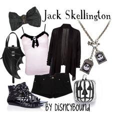 Disney Bound Outfits | Disneybound Outfits / Jack Skellington by disneybound.