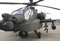 Boeing AH-64 Apache attack helicopter.