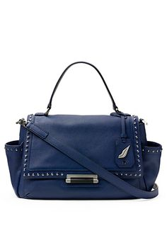 440 Courier Studded Leather Bag In Dark Night love it!!