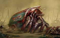 The Hermit Crab from the Far Harbor DLC #Fallout4
