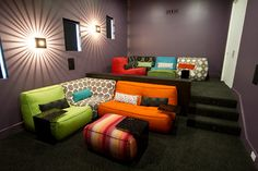 Sethi Residence - contemporary - media room - dallas - Cantoni