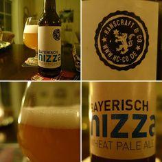 Bayerisch Nizza Wheat Pale Ale #bayerichesbier #Nizza #wheatpaleale #Beer #bier #germanbier
