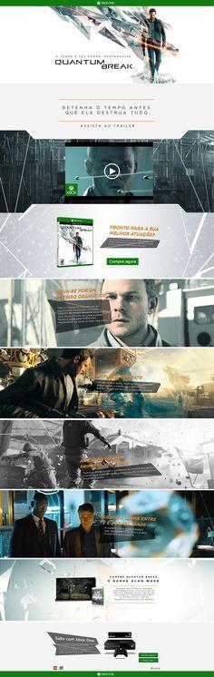 Xbox Lançamento Quantum Break on Behance