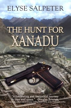 """With Douglas Preston's blurb on the front cover! He reviewed the novel and it's under """"editorial reviews"""" on Amazon."""