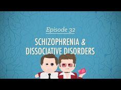 Schizophrenia & Dissociative Disorders: Crash Course Psychology #32 - YouTube