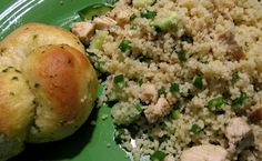 Chicken and Cous Cous Salad - We LOVE this!