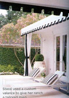 Ranch house patio