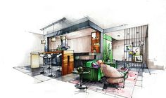 interior rooms illustrated - Google Search