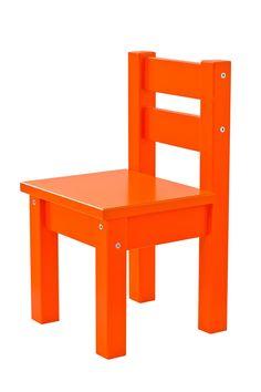 Orange Children Chair by Hoppekids