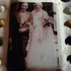 My maternal grandparents wedding picture 1932. Charles and Catherine Giraud