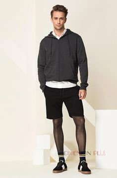 Platino Clearcut 40 Tights Marketed To Men At Taobao Cool Tights, Tights And Heels, Mens Tights, Tights Outfit, Leggings Fashion, Nylons, Pantyhose Outfits, Mens Leotard, Unisex Fashion