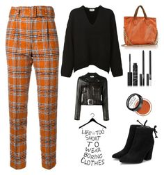 """""""Life is too short to wear boring clothes"""" by im-karla-with-a-k ❤ liked on Polyvore featuring Taro Horiuchi, Acne Studios, NADA SAWAYA, NARS Cosmetics, MAKE UP FOR EVER and Yves Saint Laurent"""