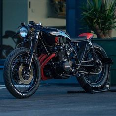 'SDNO' Honda CB550 cafe racer by @nctmotorcycles