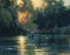 Tranquil Days on the Delta by Kim Lordier Pastel ~ 11 x 14