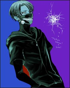 Levi Tokyo Ghoul Crossover