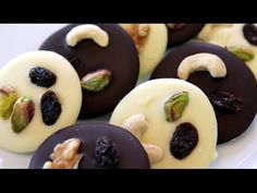 Mendiants - Chocolate Disks with Toppings Recipe
