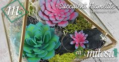 Check out Barry & Jay's Mother's Day projects using Stampin' Up! products available from Mitosu Crafts' online shop. Watch their succulent video tutorial to make your own terrarium.