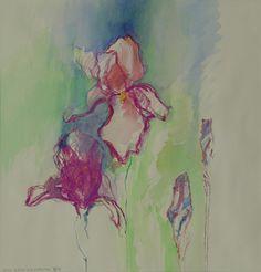 Wenn Blüten sich entfalten/Aquarell ©Tobias Windlinger