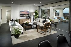 Living Room At Arista Plan 3 | New Homes In Santa Clarita In The Exclusive  Aliento