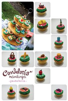 lovely picnic cupcakes! made it with lots of love!!