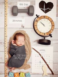 Cute Birth Announcement idea Katie Wells Photography: {Idaho Falls Newborn Photographer} Noah's Newborn Studio Session I'm stealing this for future reference Foto Newborn, Newborn Shoot, Newborn Pictures, Baby Pictures, Studio Newborn, Foto Baby, Baby Birth, Baby Baby, Everything Baby
