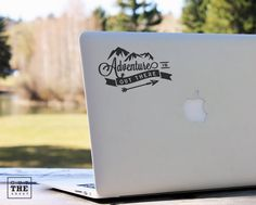 Adventure is out there - Laptop Decal - Laptop Sticker - Macbook Decal - Car…