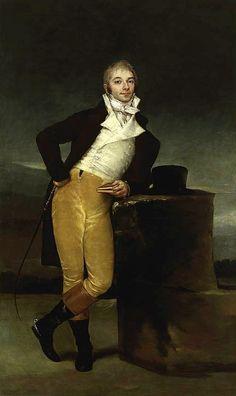Marqués de San Adrián by Francisco de Goya