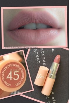The Lipstick Database: Rimmel - Kate Moss Nudes Collection in 45